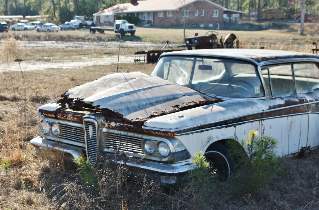 The death row '59 Edsel shined... on paper, at least.