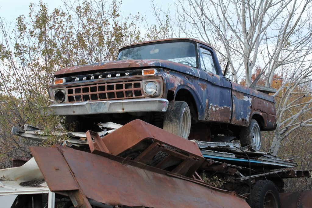 1965 Mercury M-150 pickup, spotted near Arnprior, Ontario.