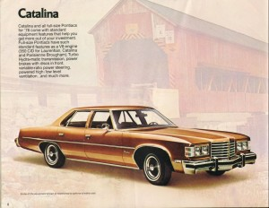 Proudly carrying the brown flag for GM was the Pontiac Catalina.
