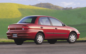 Endgame: the 2001 Chevy Metro.