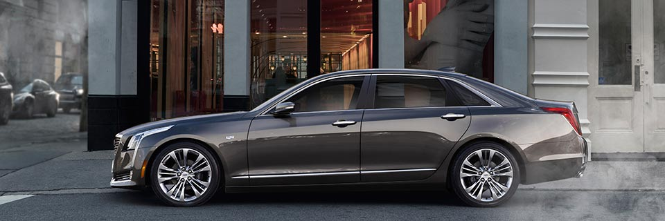Mating size with technology, the flagship 2016 Cadillac CT6 goes on sale in the spring. (Image: General Motors)