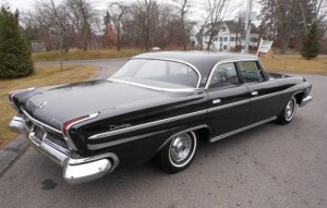 A 1962 Dodge Custom 880. Notice a resemblance?