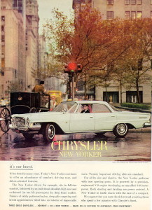 The Windsor became the base full-size Chrysler in Canada in 1962, though most of the attention went to high-end New Yorkers and 300s.