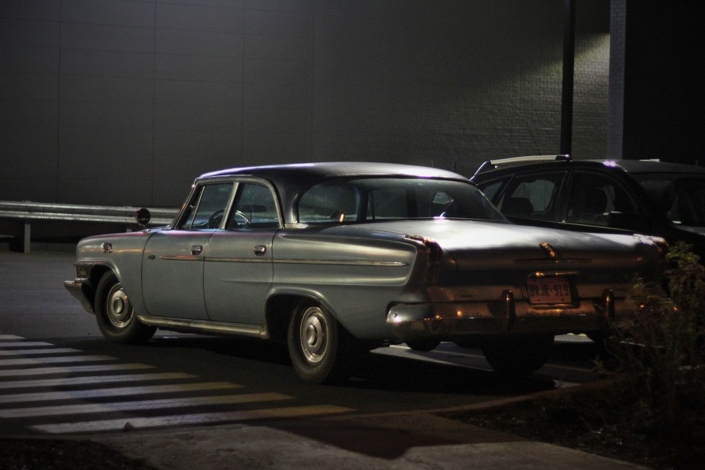 1962 Chrysler Windsor, spotted in Ottawa, Ontario.