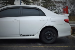 This ain't your grandma's Corolla. Although, nothing's stopping it.