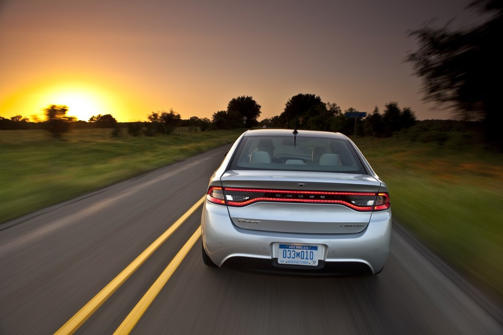 It's the long goodbye for the Dodge Dart as the model heads into the sunset.