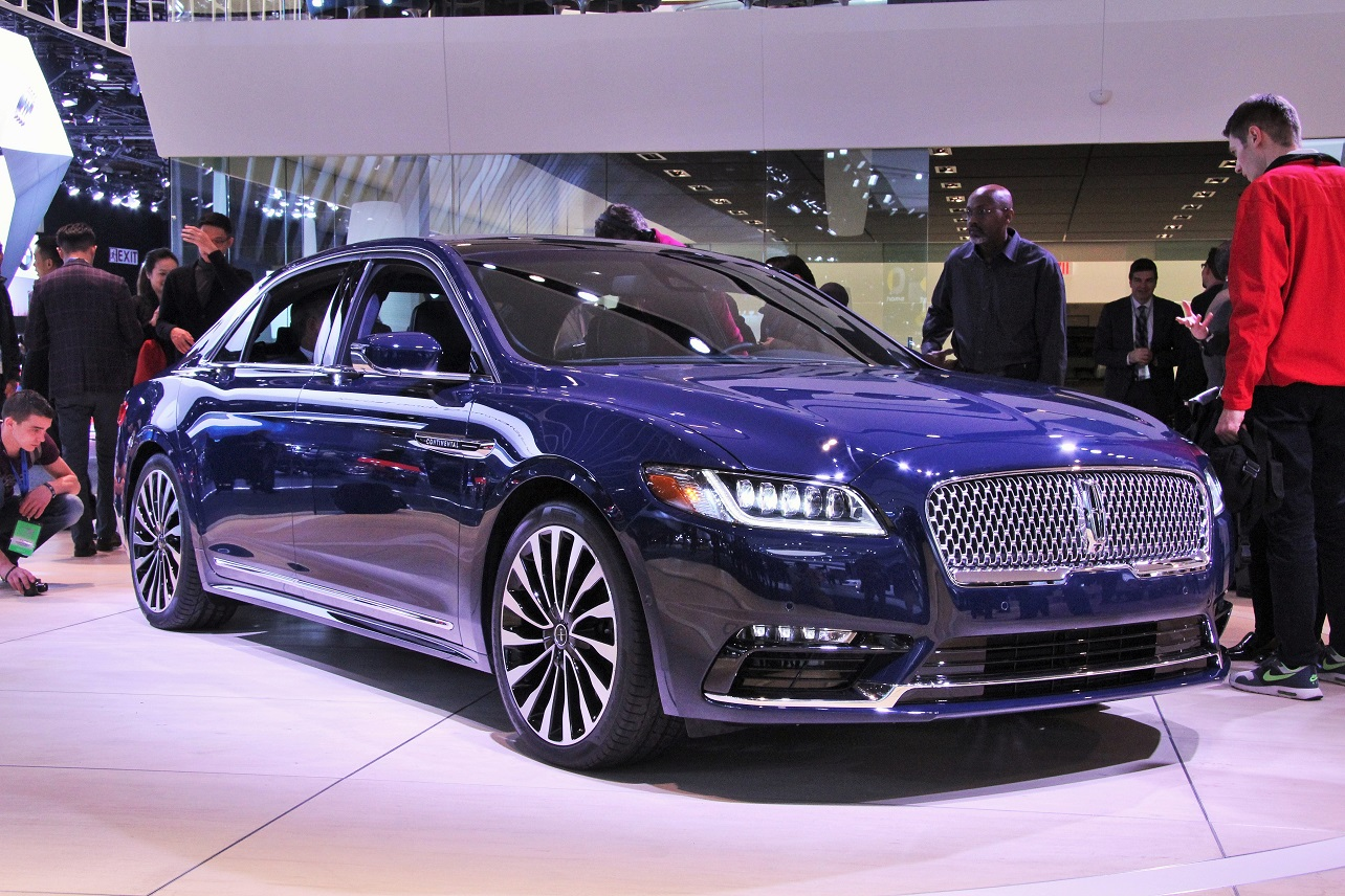 The pride is back? The new Continental landed with a splash at the NAIAS.