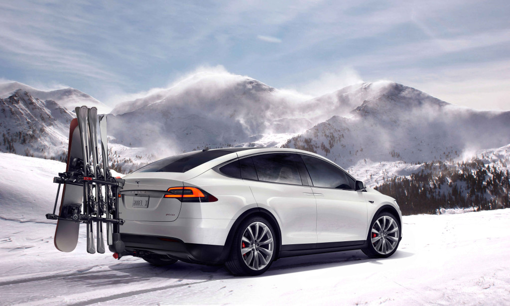 The Tesla Model X P90D. Rarified air for any EV buyer (Image: Tesla Motors)