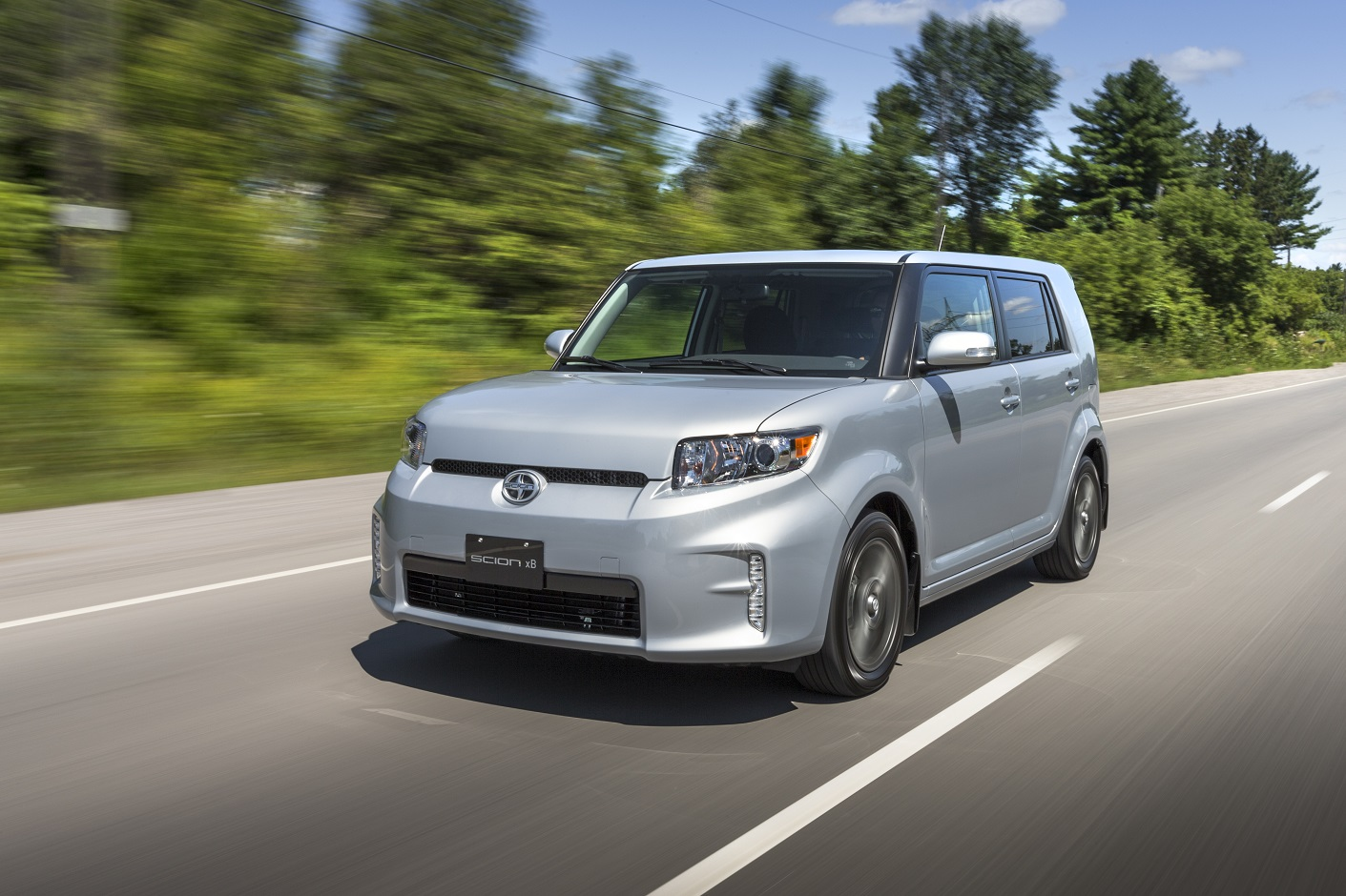 Scion's first model, the xB, was axed last year. Now, the brand follows (Image: Toyota Canada)